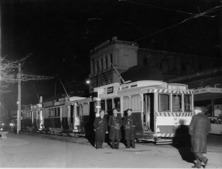 Night Trams - City centre